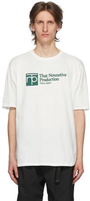 Nonnative White University T-Shirt