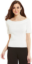 Antonio Melani Marlin Off-the-Shoulder Elbow Sleeve Knit Top