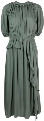 Ulla Johnson Leah asymmetric midi dress