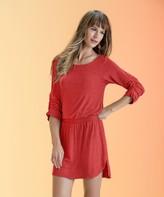Vix Paula Hermanny Solid Pepper Tais Short Dress