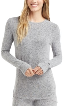 Cuddl Duds Women's Soft Knit Long-Sleeve Layering Top