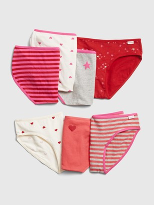 Gap Kids Graphic Bikini Briefs (7-Pack)
