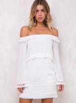Lavish Luster Off The Shoulder Dress
