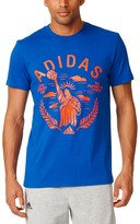 "adidas Big & Tall Life Liberty and the Pursuit of Hoops"" Performance Tee"