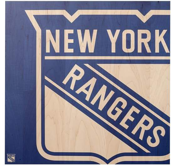Pottery Barn Teen NHL Wall Art, New York Rangers