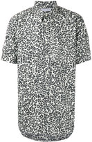 Alexander McQueen leopard print shirt - men - Cotton - 40