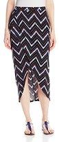 Derek Heart Junior's Manda's A/O Printed Yummy Pull On Skirt