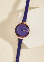 The Bevel Is in the Details Watch in Amethyst