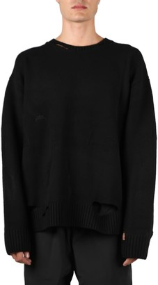 A-Cold-Wall* Black Oversize Corrosion Knit