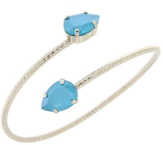 Rosaspina Firenze Double Drop Bracelet in Azure Blue