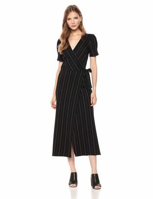 Ali & Jay Women's Take The Town Striped Maxi Dress