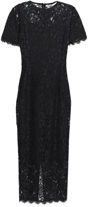 Diane von Furstenberg Corded Lace Midi Dress