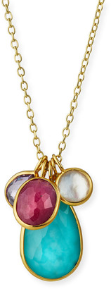 Ippolita 18k 5-Stone Pendant Necklace