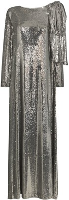 BERNADETTE Richard sequin-embellished gown