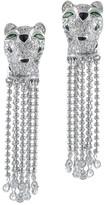 Jarin K Jewelry - Panther Fringe Earrings