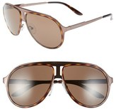 Carrera Eyewear 59mm Aviator Sunglasses