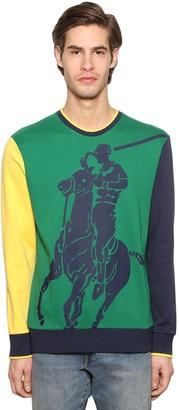 Polo Ralph Lauren Maxy Pony Cotton Interlock Sweatshirt