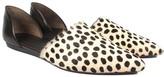 Jenni Kayne Cheetah Print Pony Hair D'Orsay Flat