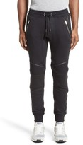 The Kooples Men's Moto Jogger Pants