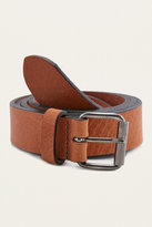 Urban Outfitters Tan Clean Leather Belt