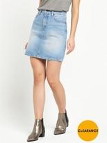 Levi's Everyday Worn In Denim Skirt - Antics