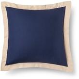 Mudhut Pillow Sham (Euro) Navy