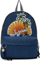 See by Chloe Blue Denim Sunset Backpack