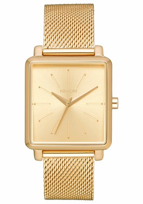 Nixon Women's Analogue Quartz Watch with Stainless Steel Strap A1206-502-00