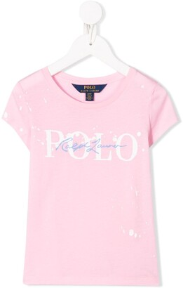 Ralph Lauren Kids signature logo T-shirt