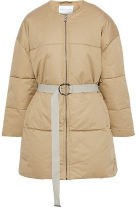 Rebecca Minkoff Sandra Quilted Cotton-twill Coat