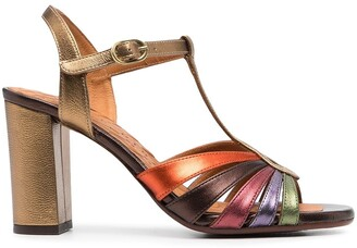 Chie Mihara Strappy Heeled Sandals
