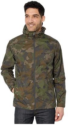 Columbia Roan Mountaintm Jacket (Olive Green/Cloudy Clouds Print) Men's Coat