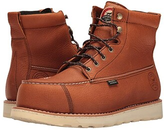 Irish Setter Wingshooter Safety Toe 83632 (Brown) Men's Work Boots