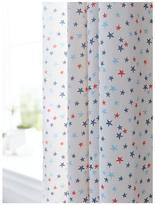 Bianca Cottonsoft Star Eyelet Curtains