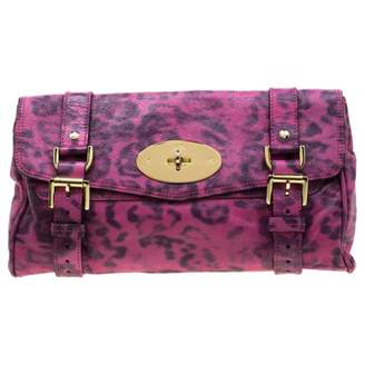 Mulberry Pink Leather Clutch bags