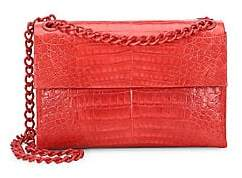 Nancy Gonzalez Women's Medium Madison Crocodile Shoulder Bag