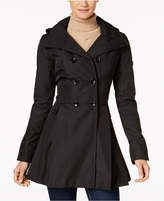 Calvin Klein Skirted Hooded Raincoat