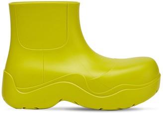 Bottega Veneta 30mm Rubber Ankle Boots