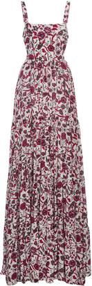 Alexis Zofia Printed Crepe Maxi Dress
