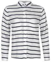 Full Circle Womens Printed Pocket Blouse Long Sleeve Casual Shirt Lightweight