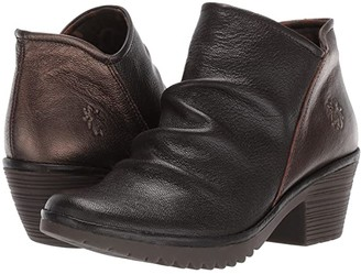 Fly London WEZO890FLY Wide (Chocolate/Coffee Mousse/Idra) Women's Shoes
