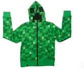 JINX Minecraft Creeper Premium Zip-Up Youth Hoodie