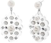Steve Madden Women's Crystal Drop Earrings