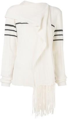 J.W.Anderson scarf knitted jumper