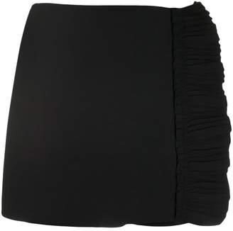 Valentino ruffle trim mini skort