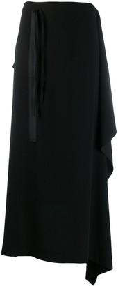 Midi Draped Skirt