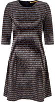 HUGO BOSS BOSS Orange Dacoca A-Line Stripe Dress, Dark Blue
