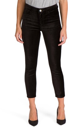 Jen7 by 7 For All Mankind Stretch Velveteen Ankle Skinny Jeans