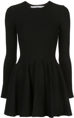 Alexander Wang long-sleeved skater dress