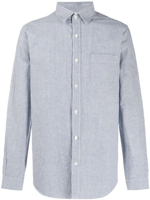 Closed Striped Buttoned Shirt